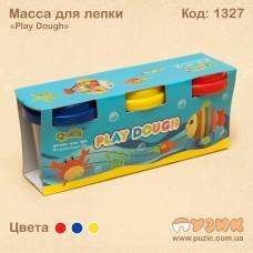 Масса для лепки «Play Dough» 3 цвета